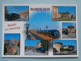 26596 POSTCARD: FRANCE: BORDEAUX (Gironde) Balade En Tramway. - Tram