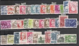 1961/70 - N. 73 FRANCOBOLLI DIFFERENTI - Used Stamps