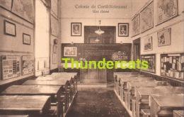 CPA COLONIE DE CORTIL NOIRMONT ** UNE CLASSE - Chastre