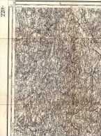 Carte D'état Major Type 1889 Révisé 1900 -229 -Auch (Lectoure) (Toulouse) -Augnax, St-Antonin > Cadours -Bédéchan > Lias - Karten