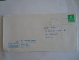Spanje Espagne Spain Brief Lettre Letter 1992 Série Courante Juan Carlos Papier Phosphorescent - 1931-Aujourd'hui: II. République - ....Juan Carlos I