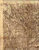 Carte D'état Major - Type 1889 Révisé 1893 - 217 - Lectoure SE (Montauban) - St-Clar > St-Sardos - Mansempuy >Pelleport - Karten