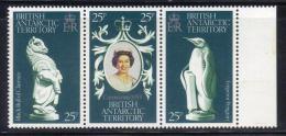 Z735 - ANTARTIC 1978 , Serie N. 75/77  *** MNH . Elizabeth II - Territorio Antartico Britannico  (BAT)