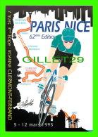 CYCLISME - 3e ÉTAPE DU 62e PARIS-NICE - ROANNE - CLERMONT-FERRAND, 1995 - TIRAGE LIMITÉ 500ex - - Cyclisme