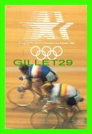 CYCLISME - 23rd OLYMPIAD, LOS ANGELES 1984 - CYCLING - TRAVEL IN 1984 - - Cyclisme