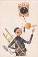 Carte Hongroise - Ramoneur - NOUVEL AN - Humor