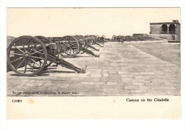 LE CAIRE CAIRO Canons On The Citadelle Lichtenstern & Harari  N° 127 Non Circulé Carte RARE DOS SIMPLE  Neuf - Cairo