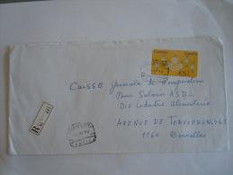 Spanje Espagne Spain Brief Lettre Letter 1994 Distributeurs ATM Certificado Yv 9 - 1931-Aujourd'hui: II. République - ....Juan Carlos I