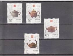 China Nº 3215 Al 3218 - Nuovi