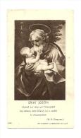 Image Religieuse, Saint-Joseph - Images Religieuses