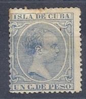 130605533  COLCU  ESP.   EDIFIL Nº  136  *  MH - Cuba (1874-1898)