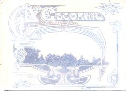 EL ESCORIAL - LIBRO DE FOTOGRAFIAS ORIGINALES 1900s - EDITOR CASTIÑEIRA Y ALVAREZ SOLD AS IS DE 19 FOTOGRAFIAS - Geography & Travel