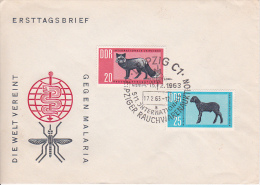 DDR Brief Mit Mi.-Nr. 945-946 - Sonderstempel Leipziger Rauchwarenauktion (0598) - Covers & Documents