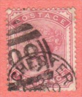 GB SC #81 U 1880 Queen Victoria W/CDS, CV $100.00 - 1840-1901 (Victoria)