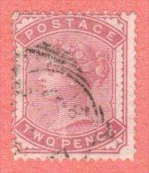 GB SC #81 U 1880 Queen Victoria, CV $100.00 - 1840-1901 (Victoria)