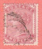 GBR SC #81 U 1880 Queen Victoria, CV $100.00 - Used Stamps