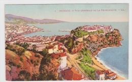 MONACO - N° 1 - VUE GENERALE DE LA PRINCIPAUTE - Ed. LEVY FILS - Monaco