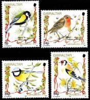GIBRALTAR 1994 BIRDS / Christmas SC# 668-71 VF MNH ** Neuf (DEB10) - Collections, Lots & Series
