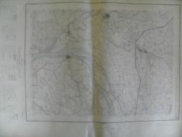 Carte Géographique - NIMES N° 4 - échelle 1/20.000 Oct 1964 - Theziers Montfrin Aramon Comps Vallabrègues Mézoargues - Cartes Topographiques