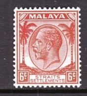 Straits Settlements  222   *  Wmk. 4 - Straits Settlements