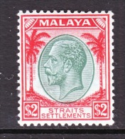 Straits Settlements  233    *  Wmk. 4 - Straits Settlements