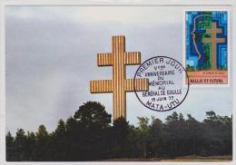 74 ANNIVERSAIRE DU MÉMORIAL  DE GAULLE  Disponible - Covers & Documents