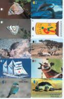 100 TELECARTES OMAN * LES LA PLUPART SONT AMIMEAX * 100 Telefonkarten Aus OMAN (LOT 5) - Télécartes