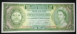 Uncirculated British Honduras $ 1 ( 1973) Pick 28c - Belize