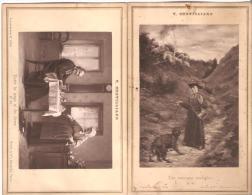 """V.Chevilliard. Carte-Album.  Curé.Humour. """"Entre La Coupe Et Les Levres"""". """"Une Mauvaise Rencontre"""". - Religions & Beliefs"""
