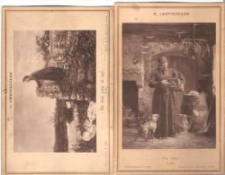 """V.Chevilliard. Carte-Album.  Curé.Humour. """"Un Beau Point De Vue"""". """"Vae Victis"""". - Religions & Croyances"""