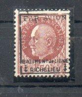 Poste Aerienne Militaire Surcharge Richelieu N°3** Signe - 1927-1959 Nuevos