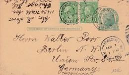 USA - 1933  - CARTE ENTIER POSTAL -  DE CHICAGO ( ILLINOIS ) POUR ALLEMAGNE