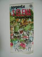 CHIANCIANO  SORGENTE S. ELENA ILLUSTRATA MONNINI   VECCHIA  BROCHURE DEPLIANT TURISMO  CONDIZIONI  COME DA  FOTO CARTE 1 - Toursim & Travels