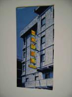 HOTEL DE NICOLA  MATERA   VIA NAZIONALE  ALBERGO   VECCHIA  BROCHURE DEPLIANT TURISMO  CONDIZIONI  COME DA  FOTO - Toursim & Travels