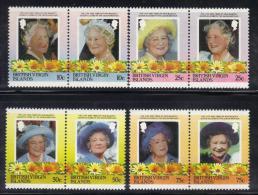 Z759 - BRITISH VIRGIN ISLANDS , 85th Queen Mother Serie 527/534  ***  MNH - British Virgin Islands