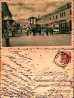 70134)cartolina Illustrata Di  Mogliano Veneto-piazza Centrale- Viaggiata Nel 1918 Animata - Treviso