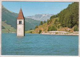 Vinschgau , Turm Des Versunkenen Graun - Reschensee - Bolzano (Bozen)