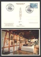 Carte Postale Avec CàD 68 RIQUEWIHR Philatélie / Au Temps Des Turgotines / Musée D´histoire Des PTT - Réf A1746 - Storia Postale