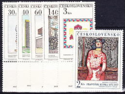 ** Tchécoslovaquie 1968 Mi 1792-7 (Yv  1641-6), (MNH) - Nuovi