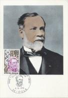 CARTE MAXIMUM - MAXICARD - MAXIMUMKARTE - MAXIMUM CARD - FRANCE - LOUIS PASTEUR - CHIMISTE ET BIOLOGISTE - Louis Pasteur