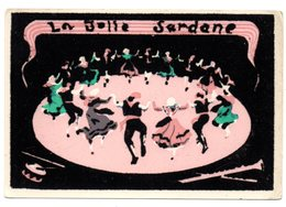 CPM    CARTE EN VELOURS     1963             LA BELLE SARDANE - Autres