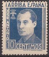 FET36-LM094TBE.Espagne.Sp Ain.España.JOSE ANTONIO PRIMO DE RIBERA.Falange.1938. (Galvez 36*)en Nuevo.RARO - Beneficiencia (Sellos De)
