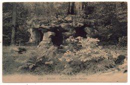 CP, 85, LUCON, Cascade Du Jardin Dumaine, écrite En 1921 - Lucon