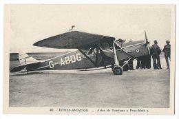 """ISTRES AVIATION (Bouches Du Rhône) - """" PUSS-MOTH""""  - Avion De Tourisme - N°462 - 1919-1938: Entre Guerres"""