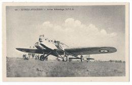 ISTRES AVIATION (Bouches Du Rhône) -  Avion Bifuselage S.P.C.A - N°470 - 1919-1938: Entre Guerres