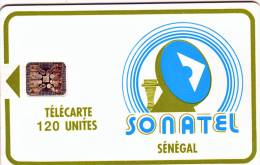 **Télécarte à Puce Du Sénégal   120Unités  Utilisée  Qualité TB  **** N°Lot 34684 - Sénégal