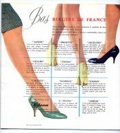 ALBUM MODELES TRICOT BERGERE De FRANCE 1959 / Publicité BAS Nylon LAINE Et SOUS VETEMENTS - Patrons