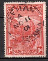 Tasmania RARE Cancel ZEEHAN 10 AUG 1904,  A Very Small Town!!! (A9) - Gebraucht