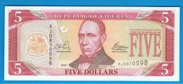 LIBERIA - 5 Dolar 2003 SC  P-26 - Liberia