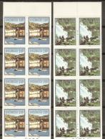 NORUEGA 1979 - Yvert #751/52 (carnets) - MNH ** - Carné